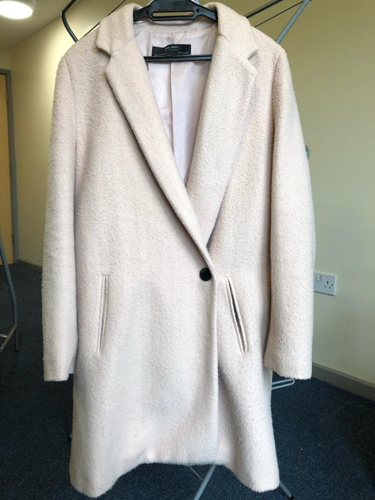 Zara Pastel Pink Coat