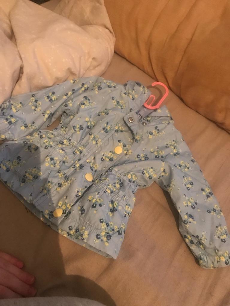 Baby girl coat / rainmac