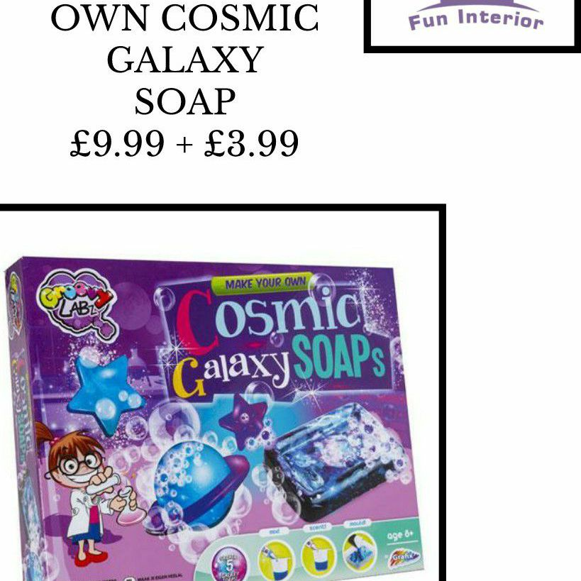 MAKE YOUR OWN COSMIC GALAXY SOAP🧼🛀