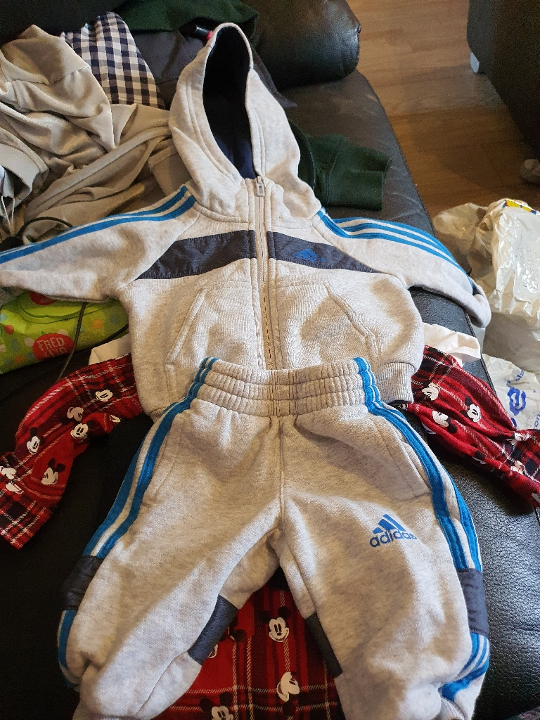 Baby boy clothes bundle and other baby items
