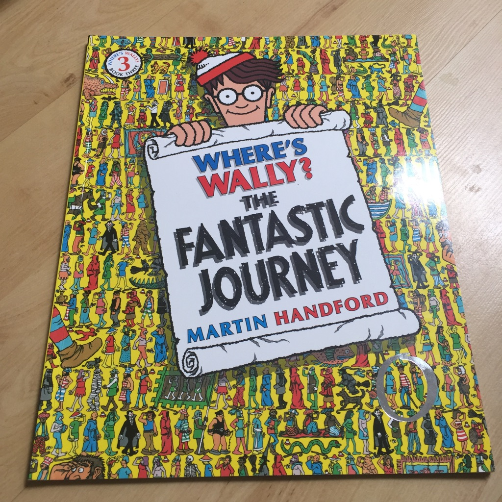 Where's Wally Book 3 Brand New