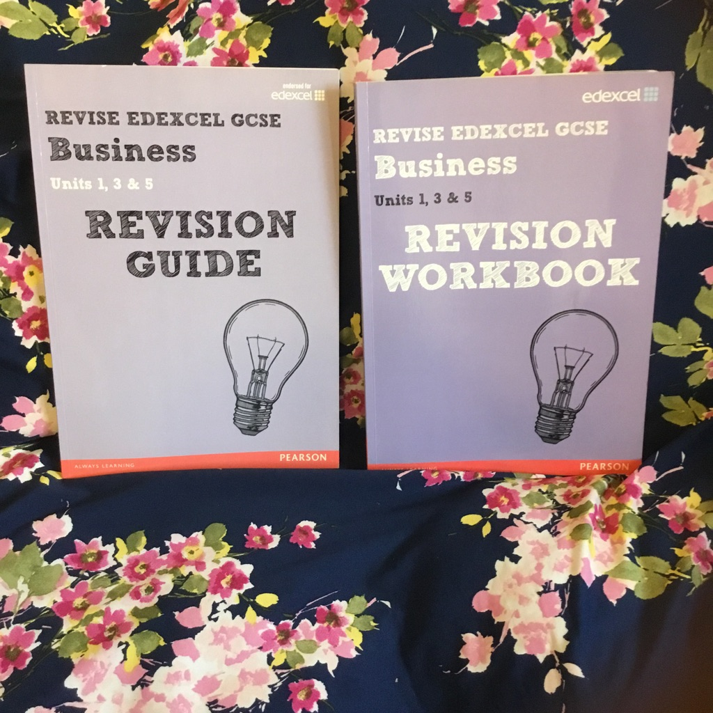 GCSE Edexcel business revision guide and workbook