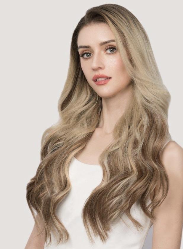 Hair extensions 20% off using my code below ⬇️