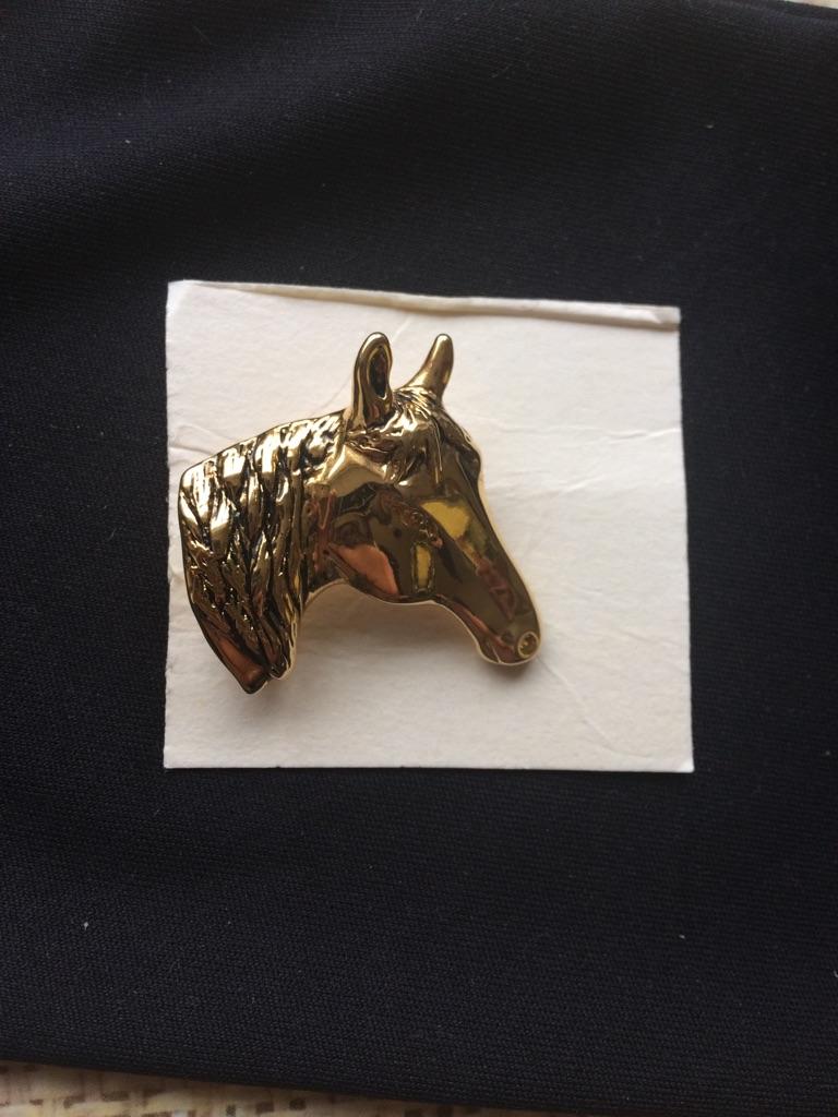 Horse broach