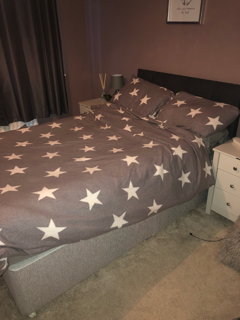 low priced c65b4 5699c Small double divan bed for sale.