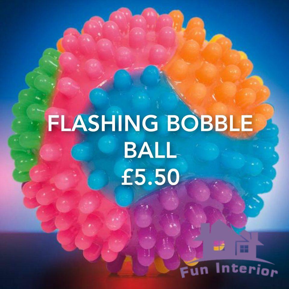 FLASHING BOBBLE BALL