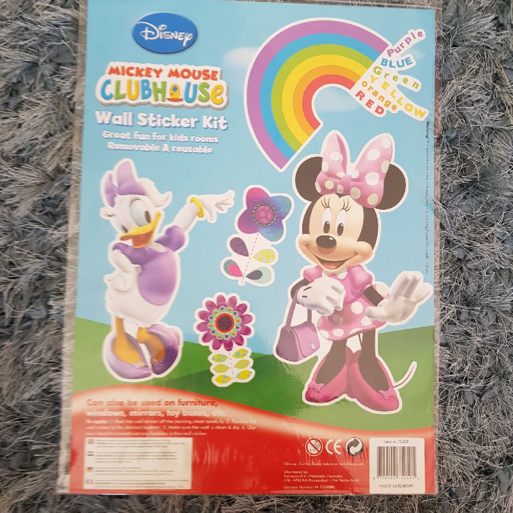 Brand new minnie mouse wall stickers