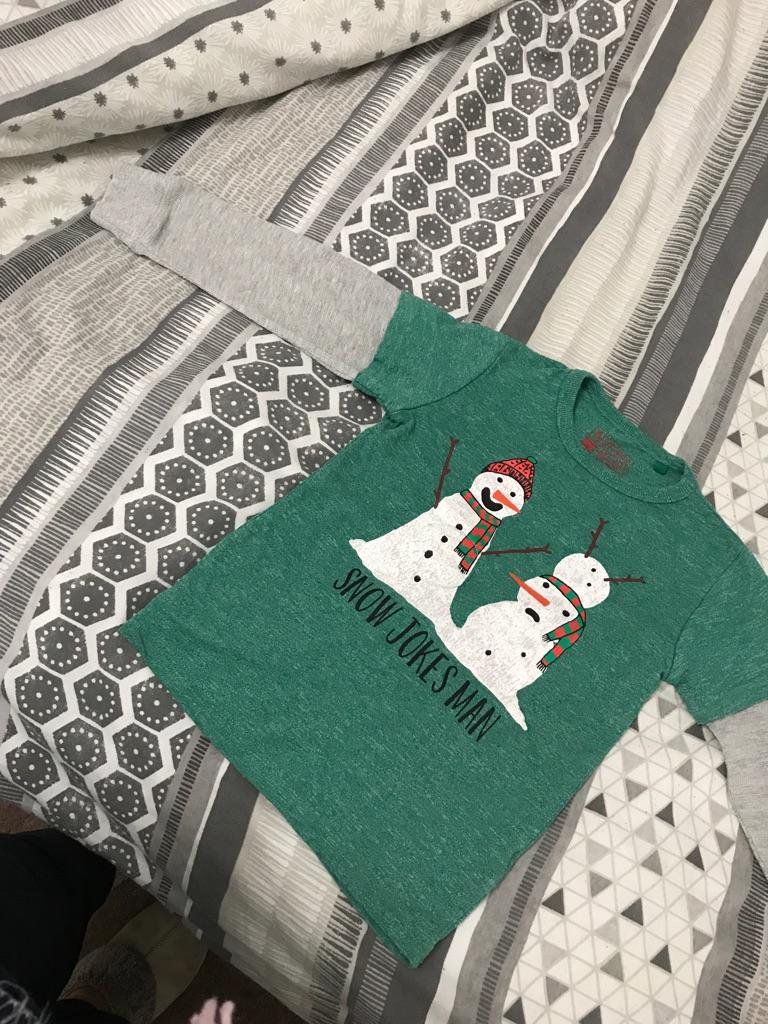 Child's Christmas top