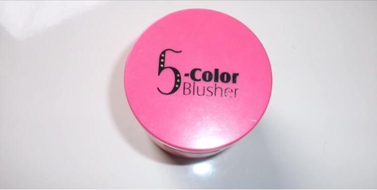 5 Colour Blusher