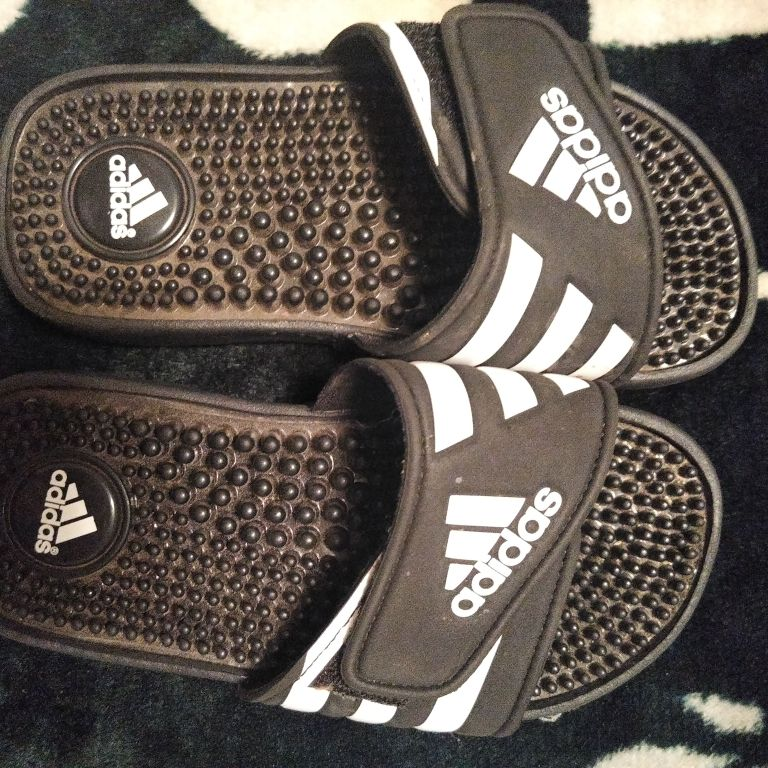 Brand New Adidas slides size 1