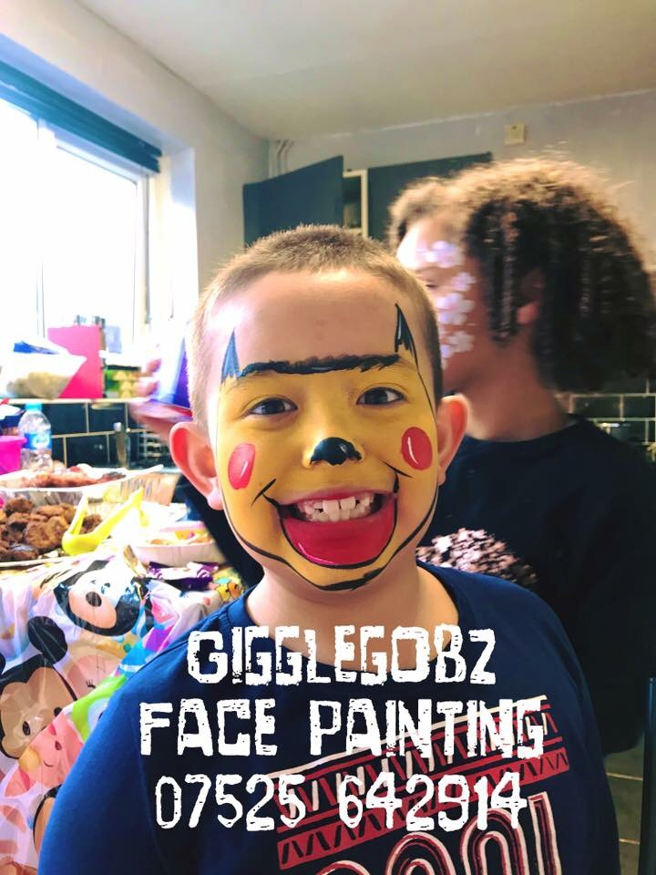 Gigglegobz Face Painting & Glitter Tattoos