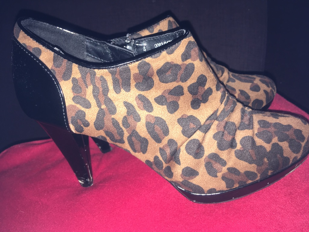 Ankle boot size 37, 3inch heel