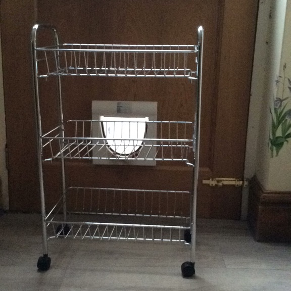 Stainless Steel Veg Trolley