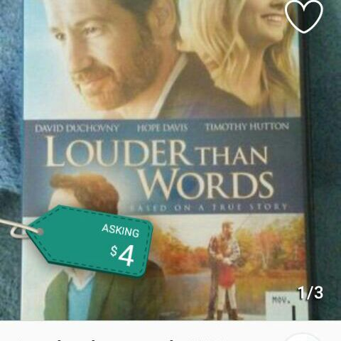 Louder than words DVD