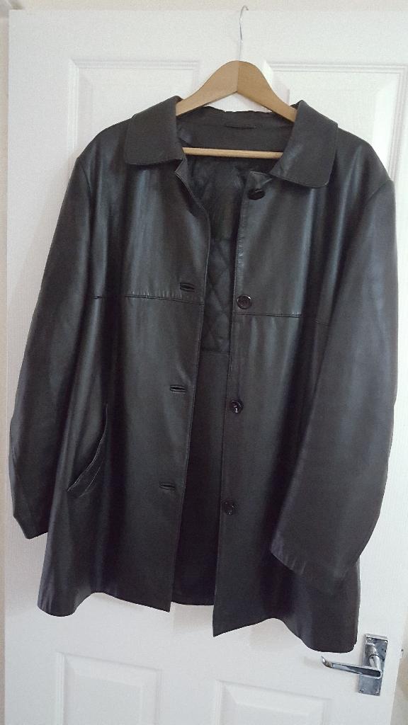 Beautiful Soft Italian Leather Jacket /Coat Size L