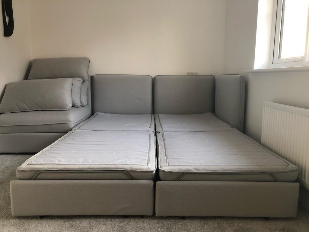 Ikea Vallentuna 3-Seat Modular Sofa Bed