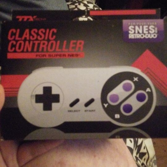 Classic Controller for Super NES