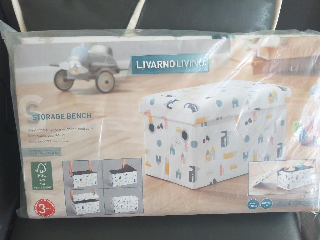 Storage Bench.  New