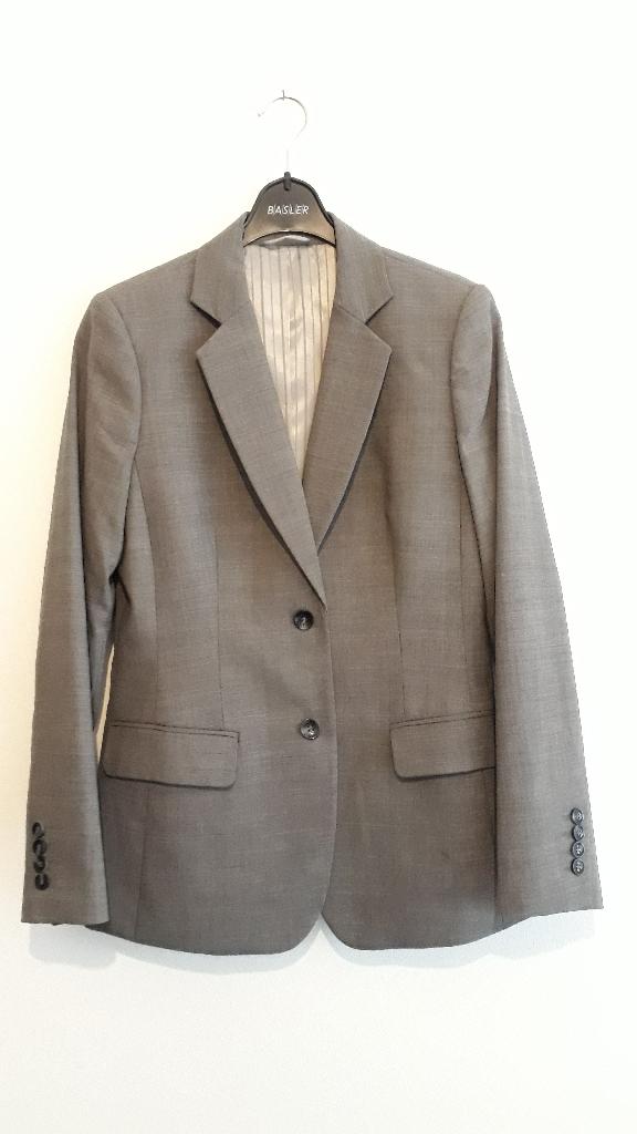 Austin Reed Grey Womens Suit Jacket Size 10