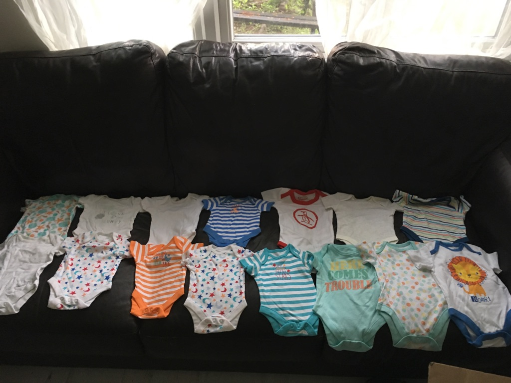 Baby boys clothes bundle (0-3 month and 0-6 months)