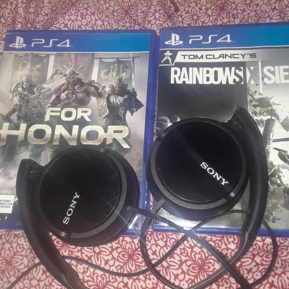 Ps4 for honor sony headphones rainbow 6