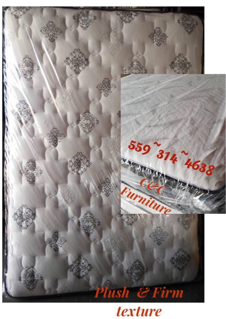 Queen Pillow Top Mattress and Box spring