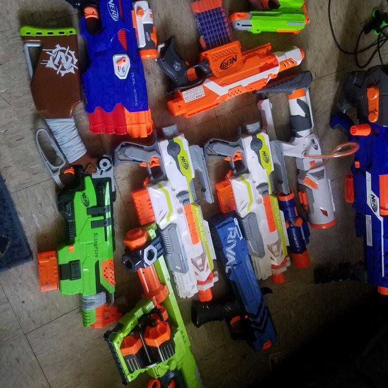 Cheap nerf gun lot