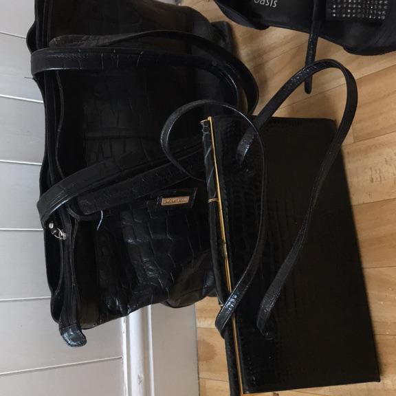 Large tote bag Marta Ponti Italian leather