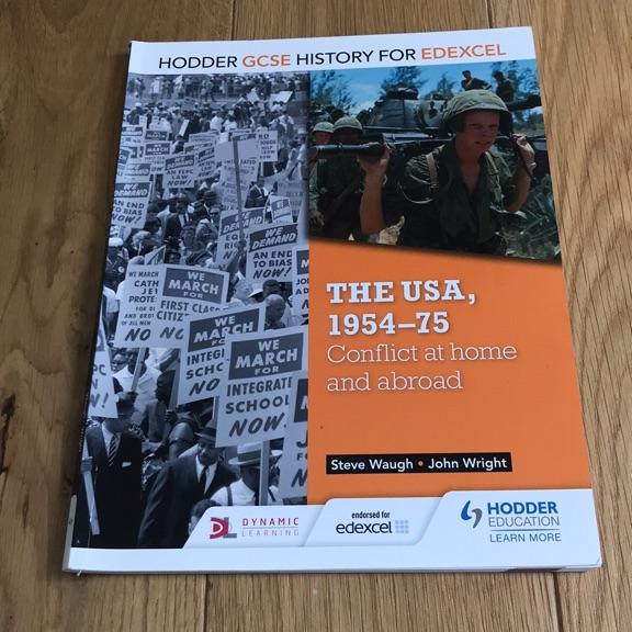 GCSE HISTORY EDEXCEL THE USA