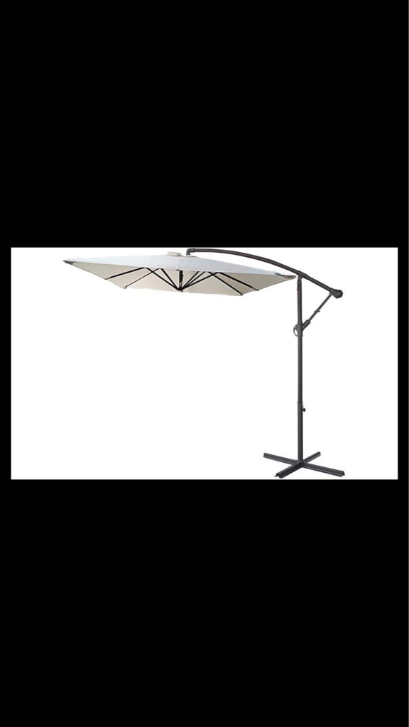 Parasol +Base plus cover new unwanted gift