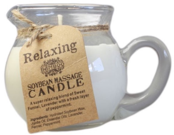 Soybean massage candle- relaxing