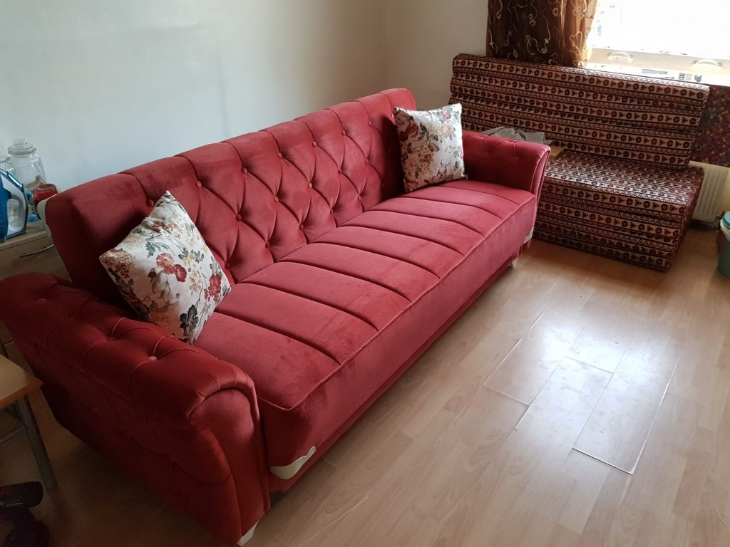 Red or Green sofa bed