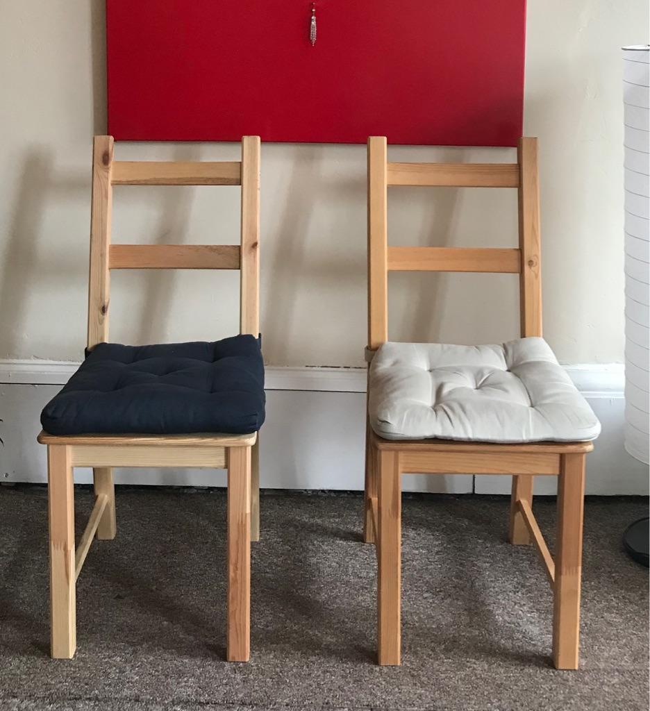 Classic IKEA chairs x 4 (bargain!)