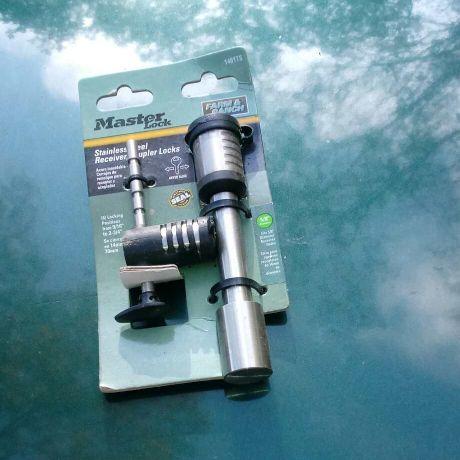 Stainless steel receiver/coupler locks