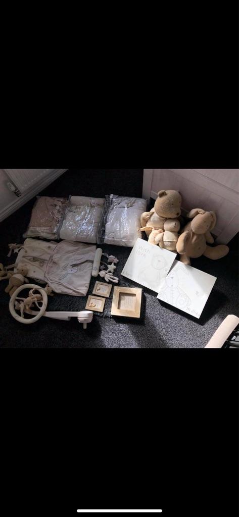 Millie and Boris nursery set
