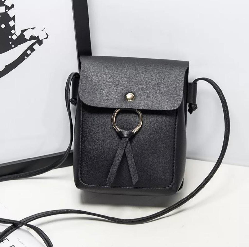 Shoulder Bag Tassel Mobile Phone Pocket
