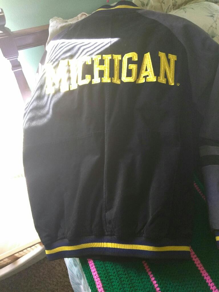 Spring Michigan jacket