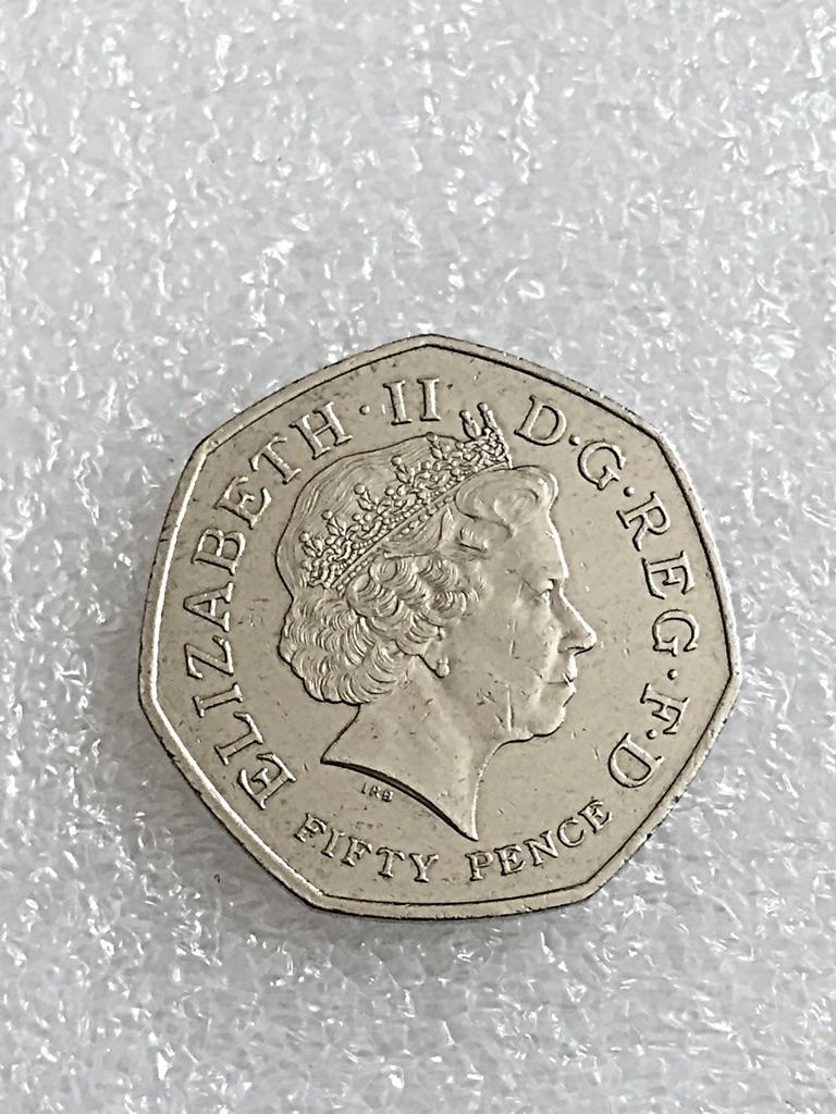 50p coin WWF