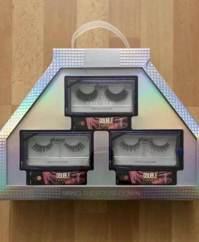 BPERFECT eyelash and lipgloss gift set