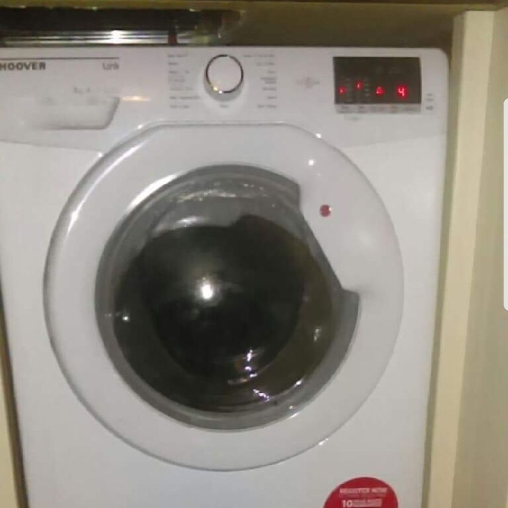 Hoover 8kg one touch washing machine