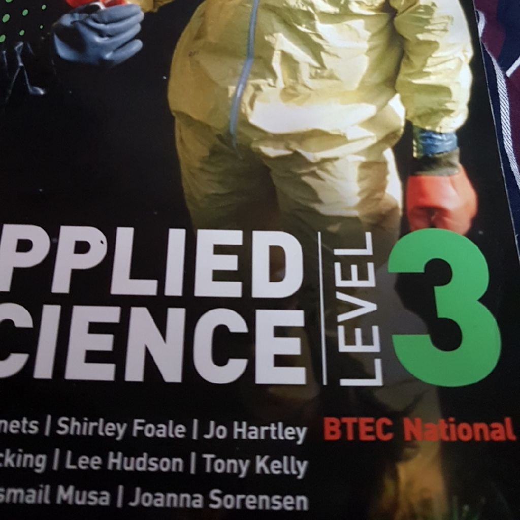Edexcel btech level 3 applied science national