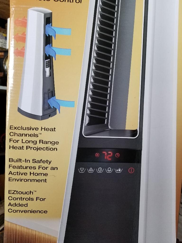 bladeless ceramic Heater