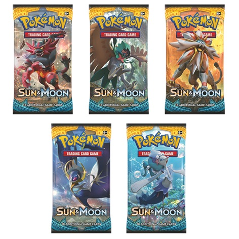 Wanted: Sun Moon Booster Packs