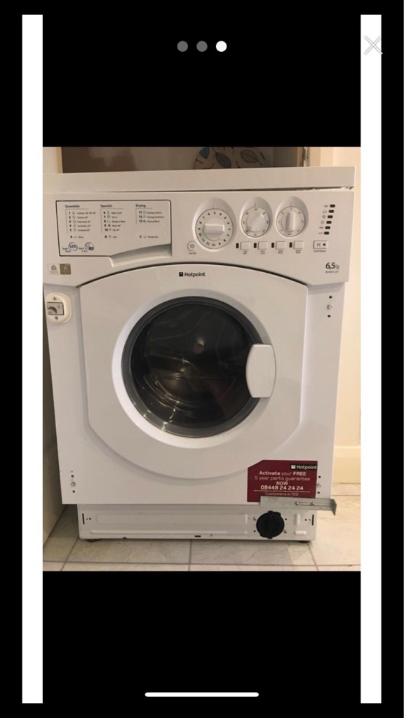 Hotpoint integrated washer-dryer