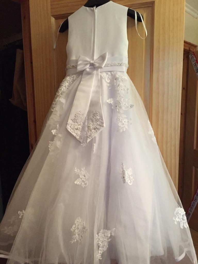 Jean millar Belfast Holy communion dress