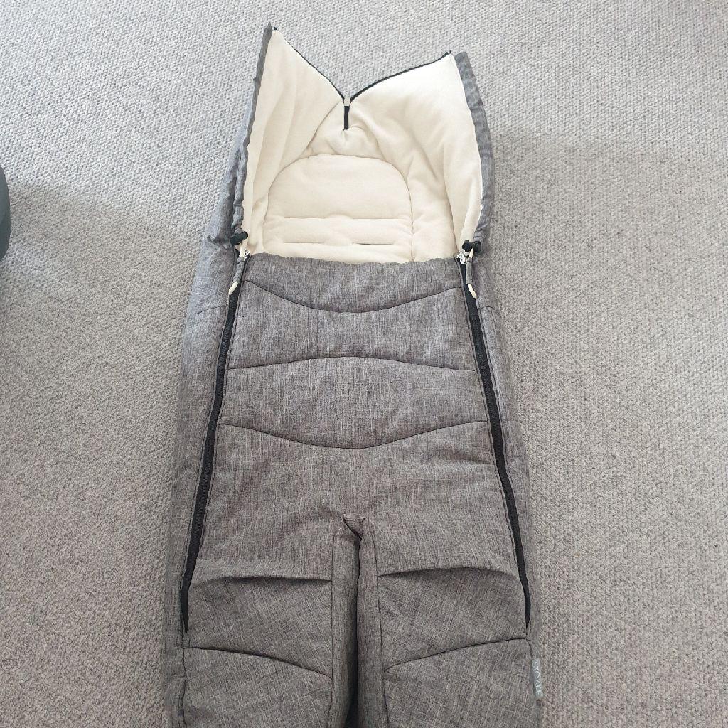 Stokke® Foot Muff (Grey Melange) RRP £99.00