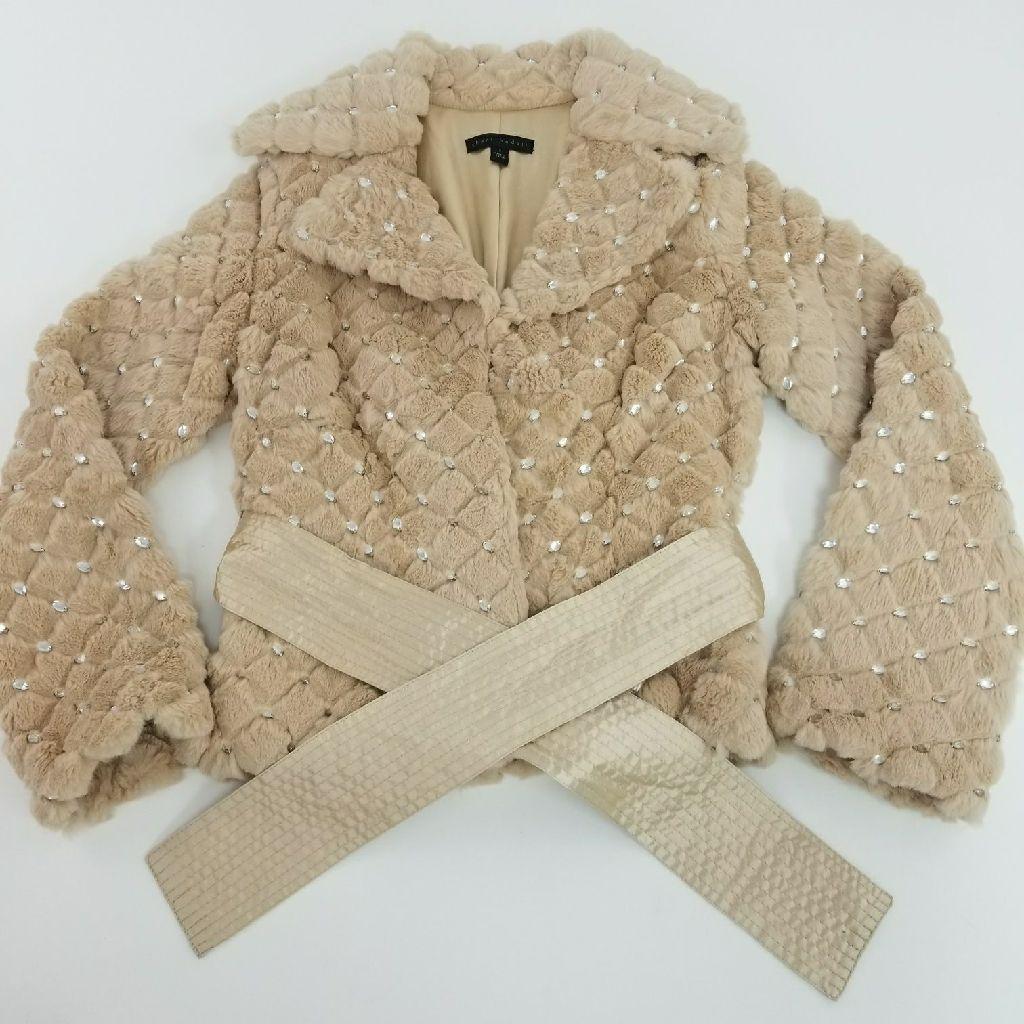 Faux fur jacket-display