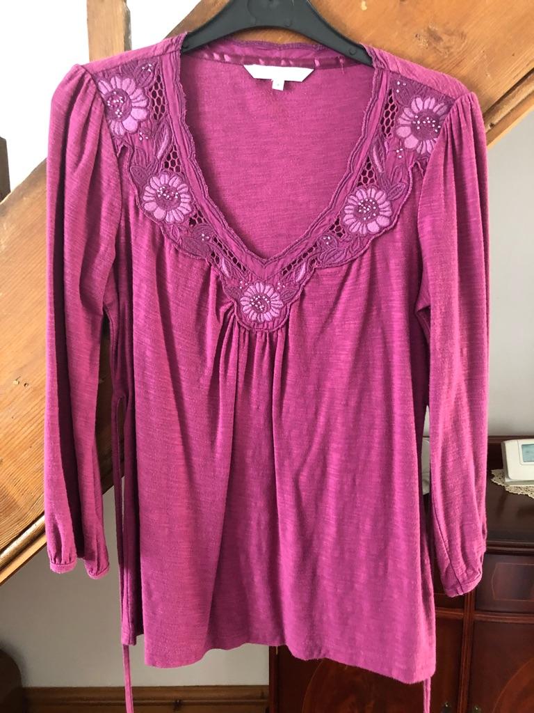 RJR pink blouse