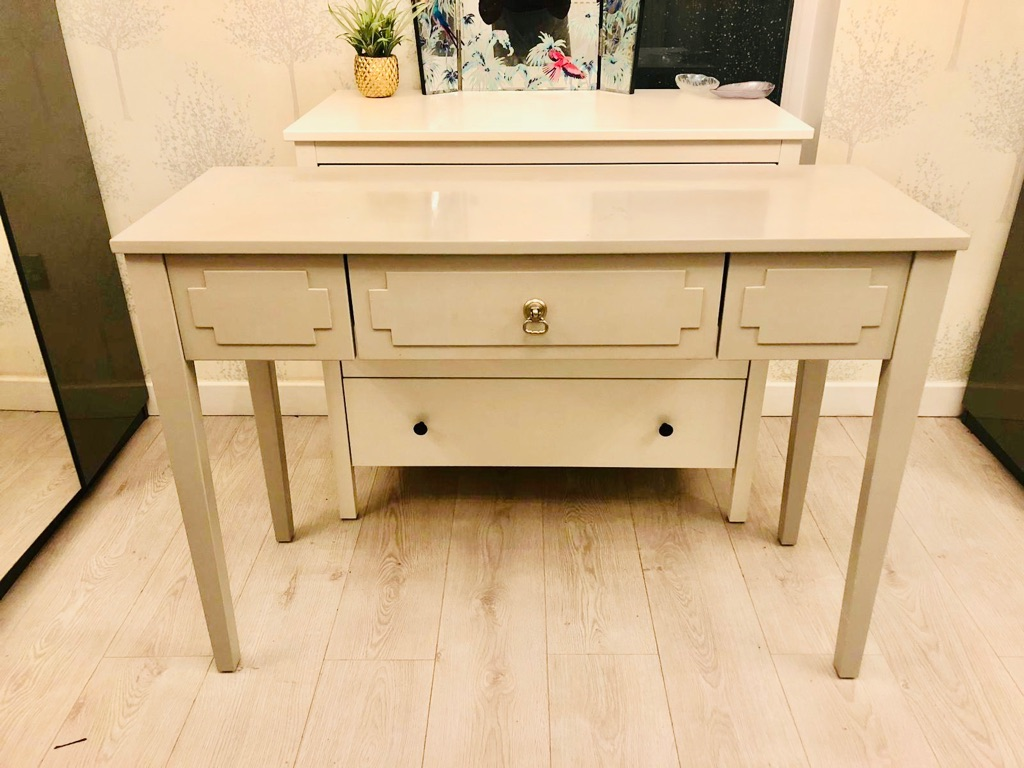 Light grey dressing table (Next)