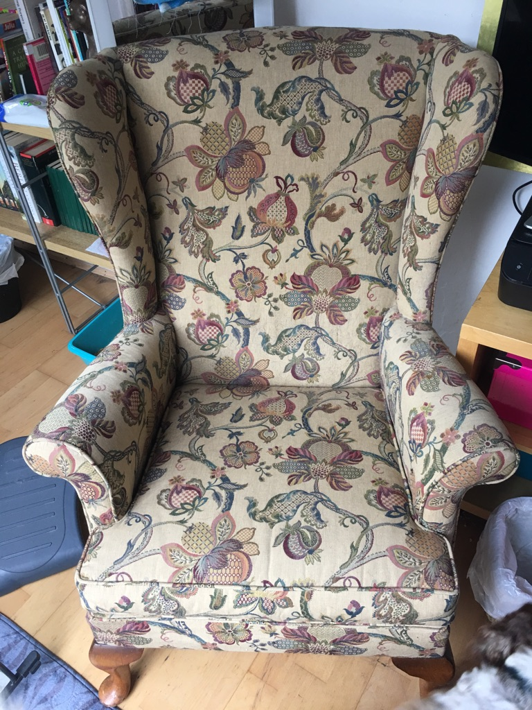 Vintage Parker Knoll Wing Chairs